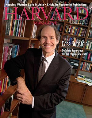 Jan-Feb 2015 cover featuring Cass Sunstein