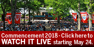 Click to watch Harvard Commencement 2018 Live