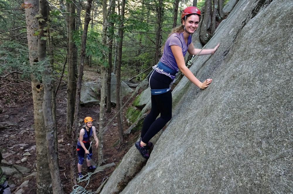 Rock Climbing In Greater Boston Harvard Magazine