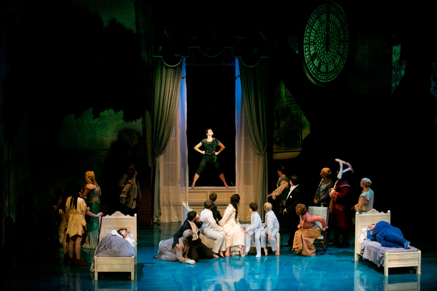 finding neverland at the art recasts the story of peter pan and the peter pan myth reinvented