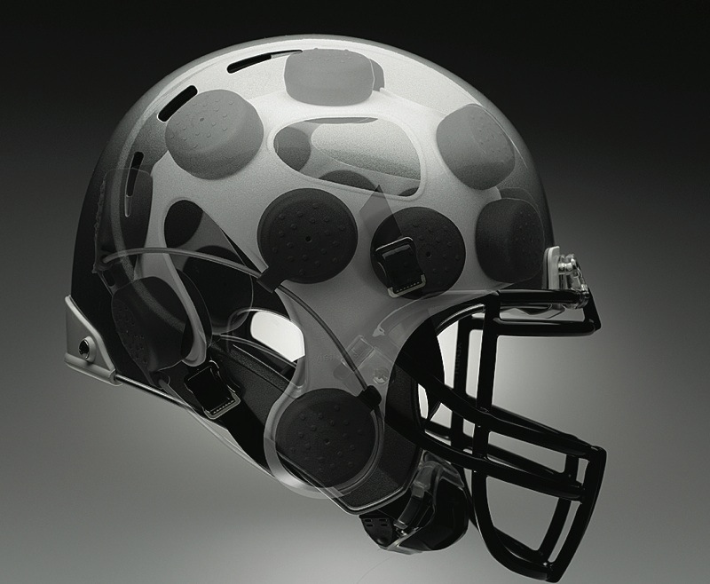 5ec52a0298cdc New football helmet protects the brain