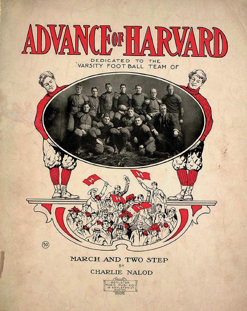 Harvard and the making of Big Football   Harvard Magazine