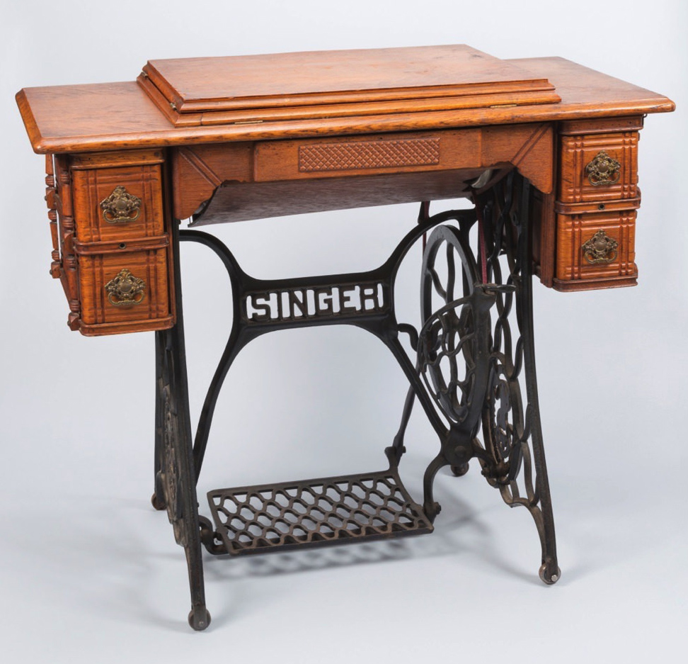 Fantastic This Singer Sewing Machine Has Many Facets Harvard Magazine Download Free Architecture Designs Xaembritishbridgeorg