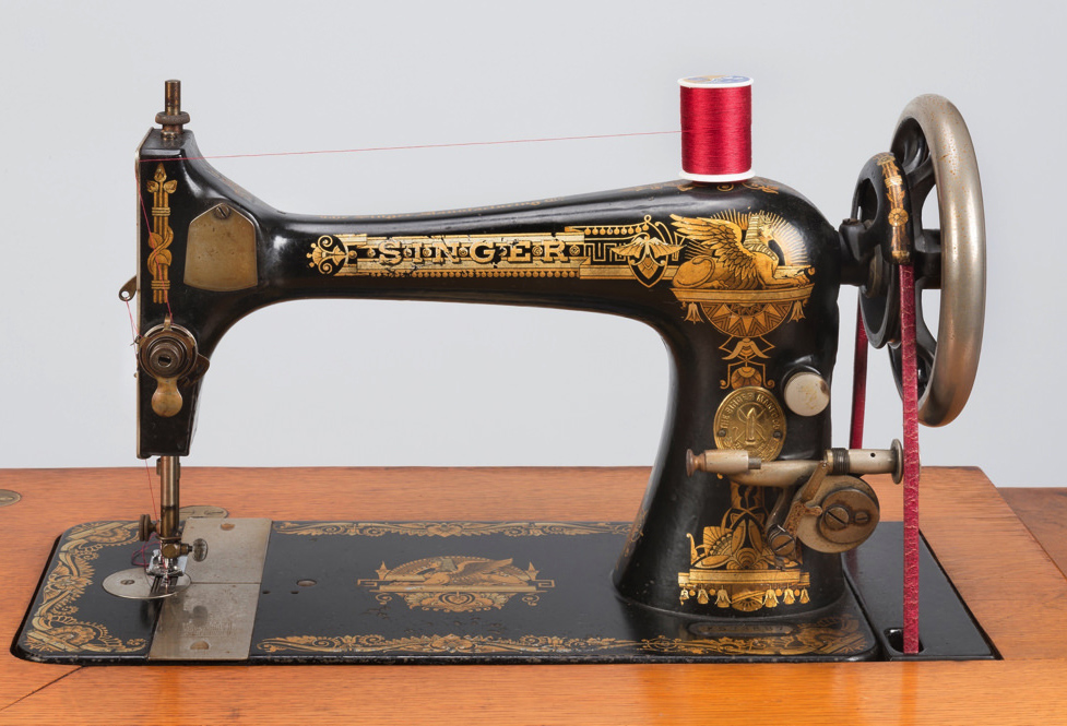 This Singer sewing machine has many facets Harvard Magazine Fascinating Value Of Singer Sewing Machine