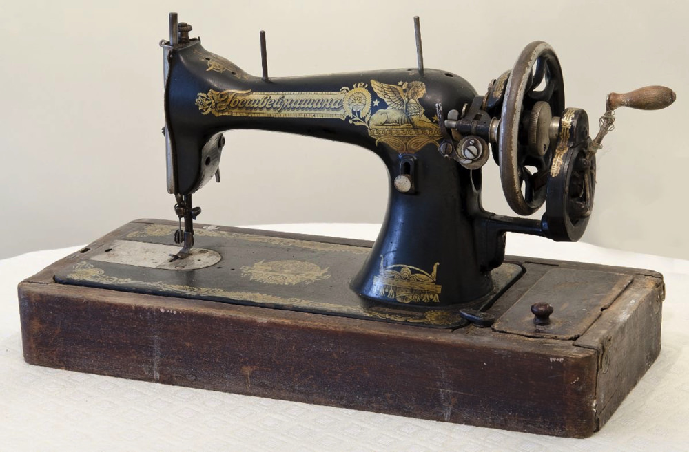 This Singer Sewing Machine Has Many Facets Harvard Magazine Classy Who Makes Singer Sewing Machines Now