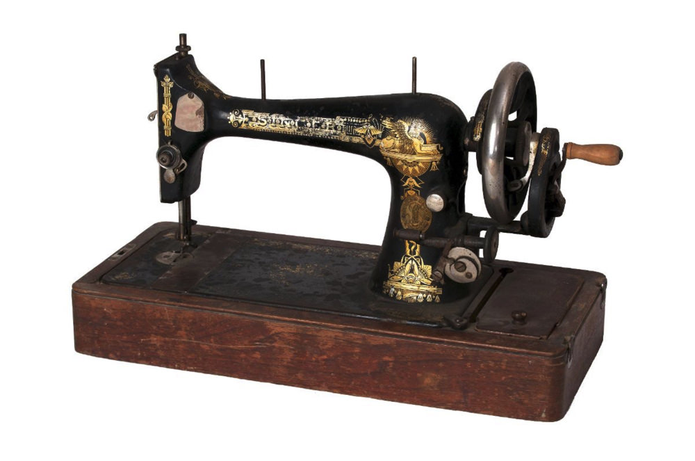 This Singer Sewing Machine Has Many Facets Harvard Magazine Best National Brand Sewing Machine