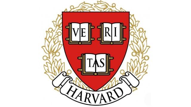 The Harvard University shield