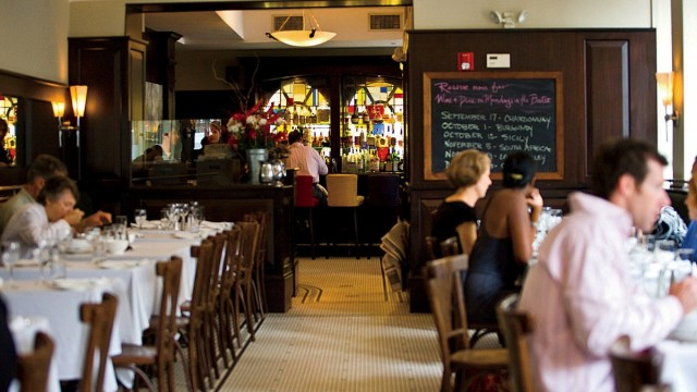 Scene from Beacon Hill Bistro