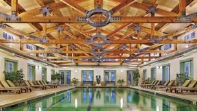 Take a dip in the pool at the Equinox Resort & Spa pool.