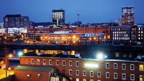 Manchester's old mills still form the heart of the city.