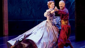 "Hoon Lee and Kelli O'Hara in ""The King and I"""
