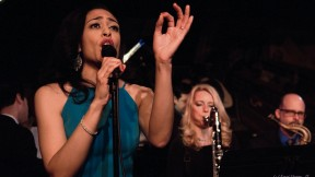 Candice Hoyes performs at the legendary Harlem jazz club Minton's.