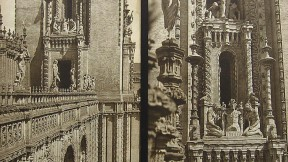 Long a mystery to passers-by at the Harvard Club of New York, these photographs depict Mullgardt's Tower