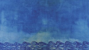 Amy Stillman's painting <i>Ocean 1 </i>(1997), Institute of Contemporary Art