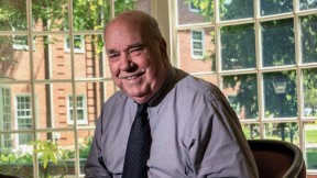 Portrait photo of admissions stalwart Dwight Miller