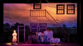 "A stage set from ""The Bridges of Madison County"""