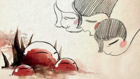 "A still from ""Reneepoptosis"" by animator Renee Zhang"