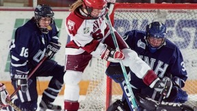 March 27, 1999—The Harvard women's ice-hockey team win the national championship.