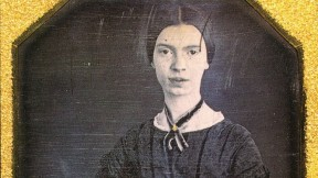 The young  Emily Dickinson, in a daguerreotype made in late 1846 or early 1847