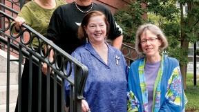 Top from left: Helen Snively, Tom Southwick, Carol Sternhell, and Deborah Johnson