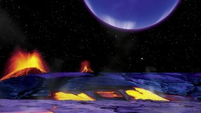 """Art from the lecture """"Strange Planetary Vistas from Kepler,"""" at the Center for Astrophysics"""
