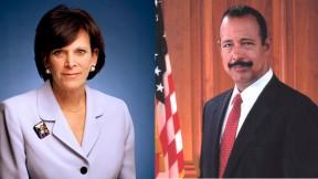 Jessica Tuchman Mathews and Ted Wells