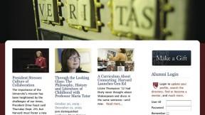 "The new <a href=""http://alumni.harvard.edu"">alumni.harvard.edu</a>"
