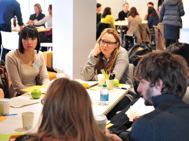 An Interdisciplinary Team Tackles The Design Challenge Question How Might We Reshape Education To