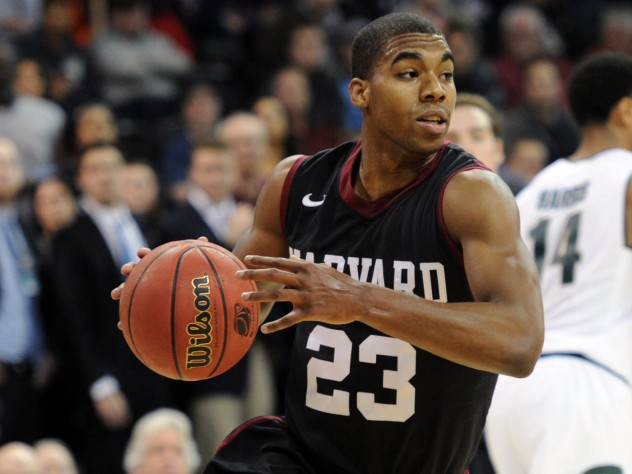 Reigning Ivy League Player of the Year Wesley Saunders '15 turned the ball over six times in Harvard's loss to Dartmouth.