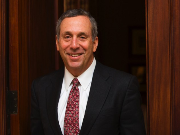 Photograph of Lawrence S. Bacow, President of Harvard University