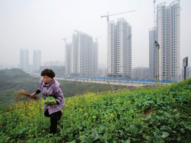 the urban-rural interface in a burgeoning city in central China