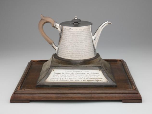 John Parker and Edward Wakeline, Silver Teapot. [ca. 1765]