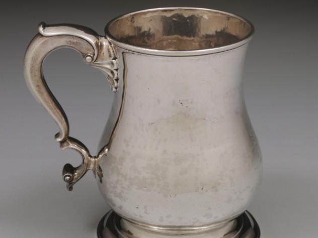 Myer Myers, <i>Cann,</i> 1750–60. Silver.