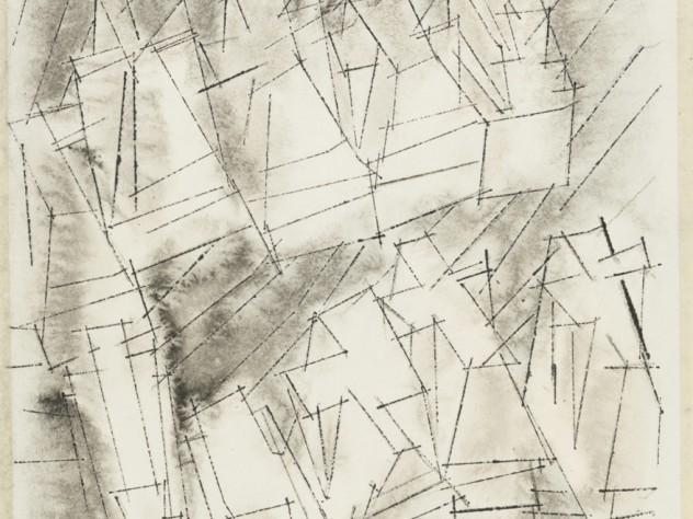 <i>Untitled </i> (Block Houses, Grey), January 1, 1955