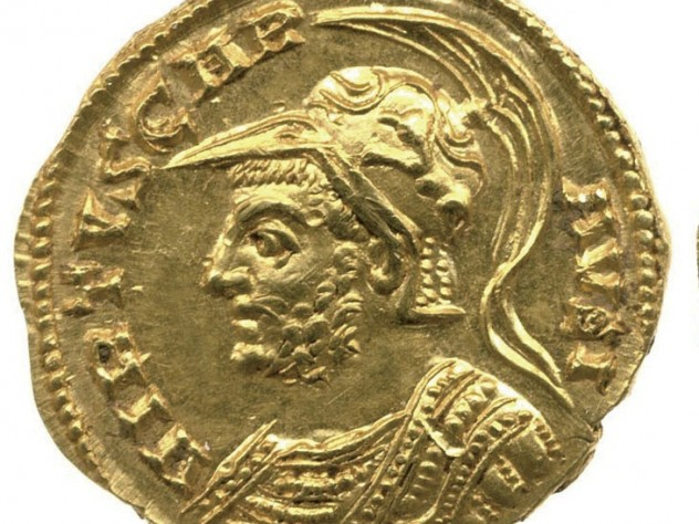 A gold aureus of the British emperor Carausius (A.D. 286–93), found in 2008 in a hoard in Derbyshire, will be discussed in a Harvard Art Museums lecture.