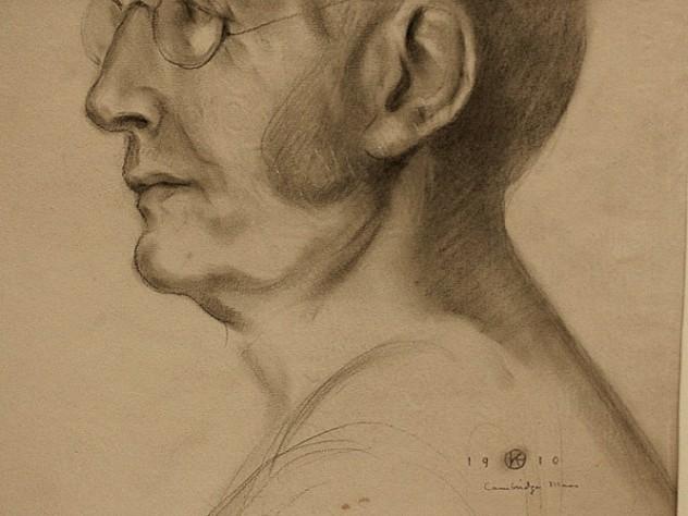 Kahlil Gibran Draws Harvard S Charles William Eliot Plus Arnoldia S Centennial Harvard Magazine