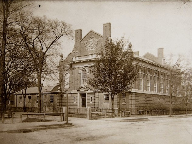 Randall Hall, a former dining commons, where the Press moved in 1916