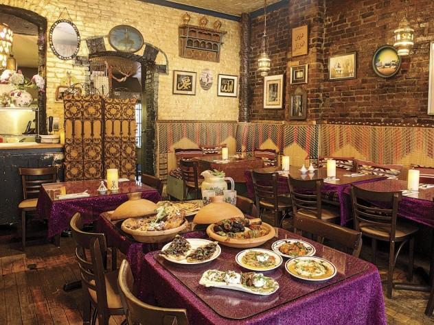 Baraka Café offers a French-Tunisian