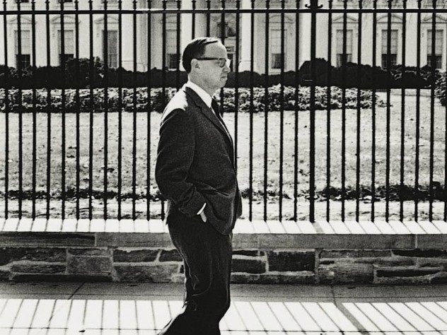 On familiar ground: AMS Jr. at the White House, 1965