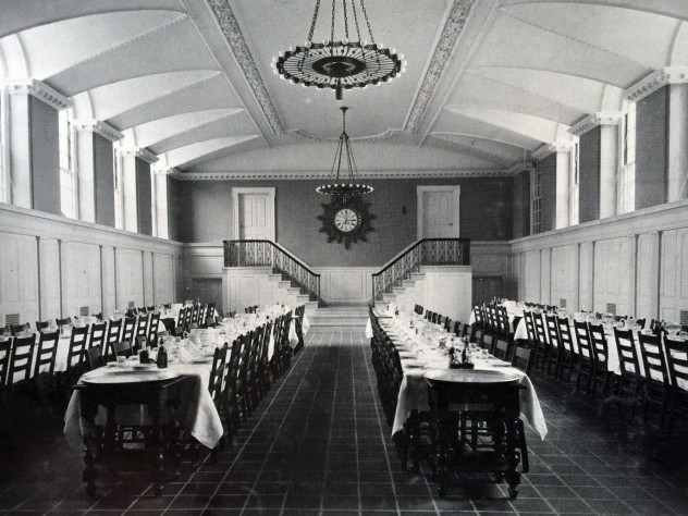 Winthrop House dining hall, 1913