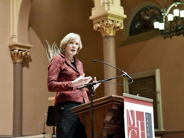 "In her keynote address for the conference, Margaret MacMillan addressed the upheavals in European society that led to the First World War. In an interview last summer, upon the paperback release of her book  <i>The War That Ended Peace</i>, MacMillan told <i>The Guardian</i>, ""Don't ask me who started the war or I'll burst into tears."""