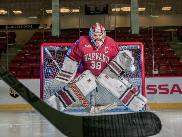 Profile Of Emerance Maschmeyer Harvard Women S Hockey Goalie