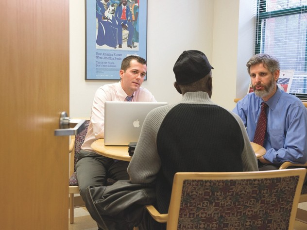 Harvard Law School students fight for veterans' at the ...