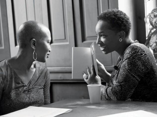 Janice Lowe and Tisa Bryant in Washington, D.C., 2012