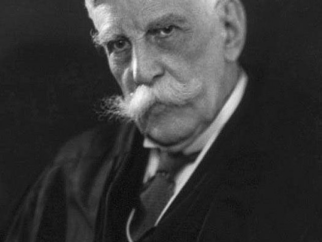 Supreme Court associate justice Oliver Wendell Holmes Jr., A.B. 1861, LL.B. '66, LL.D. '95, wrote the majority opinion supporting the sterilization of Carrie Buck.
