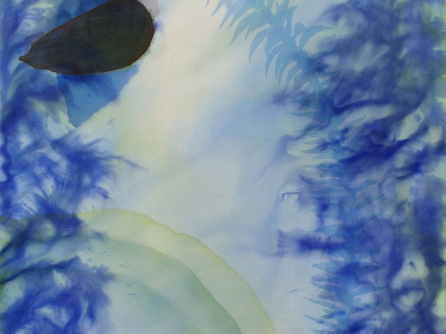 "Judy Watson's painting, ""Bunya"" (2011)"