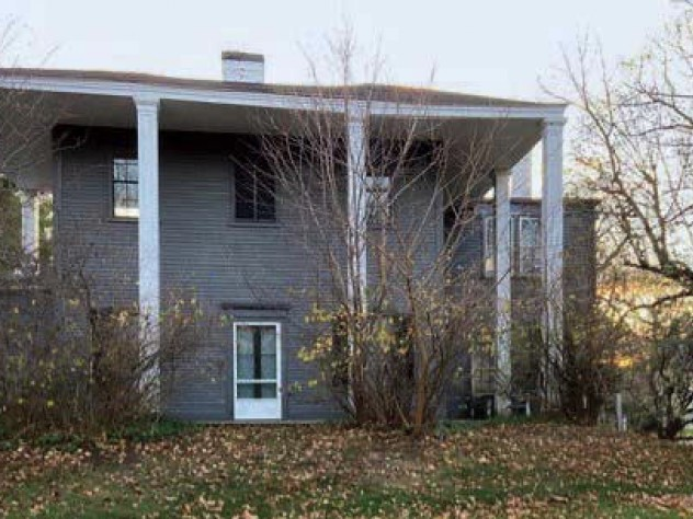Photograph of architect H.H. Richardson's house
