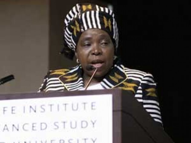 South African physician and former cabinet minister Nkosazana Dlamini-Zuma has been at the center of the fight to stop the spread of tobacco on her continent.