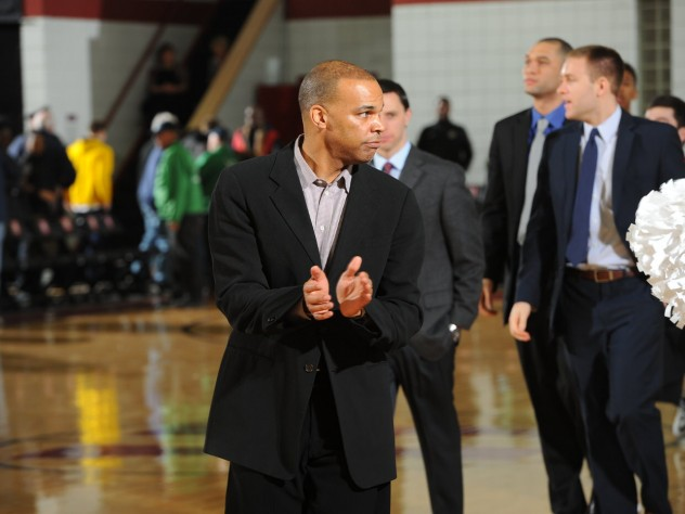 Tommy Amaker, the Stemberg Family head coach of men's basketball, is trying to keep his team calm and focused amid the postseason upheaval.