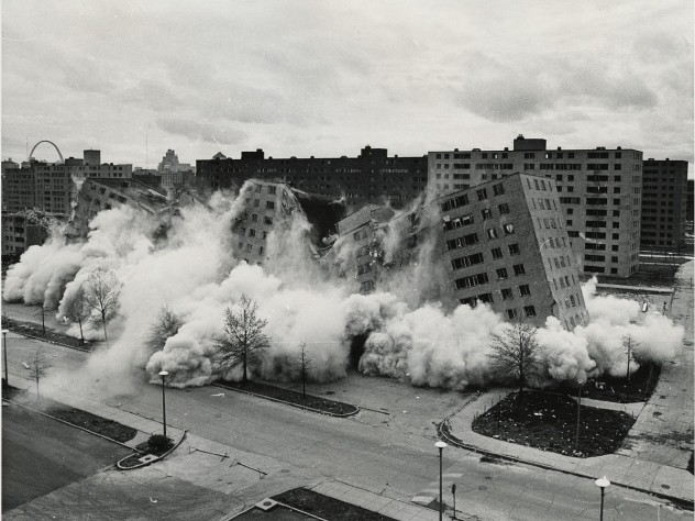 Demolished in the 1970s, less than two decades after it was built, St. Louis's Pruitt-Igoe public housing complex became a symbol of poverty, segregation, and urban-planning failure.